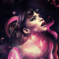Members Area Tutorial: Create the Beautiful Digital Masterpiece 'Mesmerized'