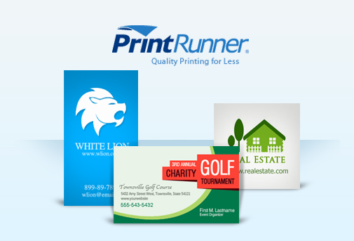 thats why im so excited to be offering these top of the range business cards from print runner - Print Free Business Cards