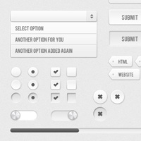 Free Download: Smooth UI Kit (.psd)