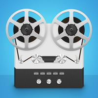 Members Area Tutorial: Create a Detailed Reel to Reel Tape Recorder From Scratch in Photoshop