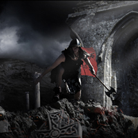 Members Area Tutorial: Photo Manipulate an Atmospheric Warrior Scene