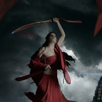 Photo Manipulate a Mystical Warrior Scene