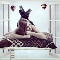 Members Area Tutorial: Photo Manipulate the Surreal Composition 'Daydream'
