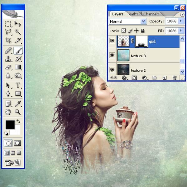 PS教程,设计一个迷人的拼贴图像 ps音画/图文教程 ,预览图24