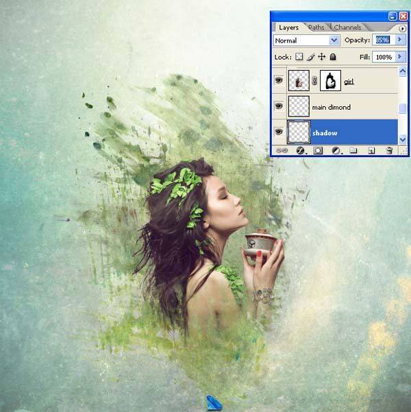 PS教程,设计一个迷人的拼贴图像 ps音画/图文教程 ,预览图38
