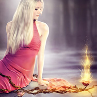 Members Area Tutorial: Create the Emotive Photo Manipulation 'Magical Rose'