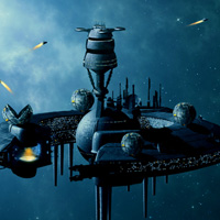 Members Area Tutorial: Photo Manipulate a Complex Space Station Scene