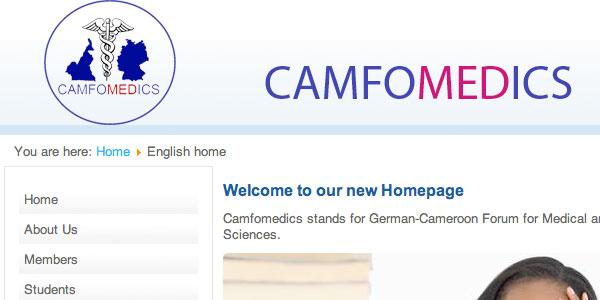 CAMFO Medics Redesign