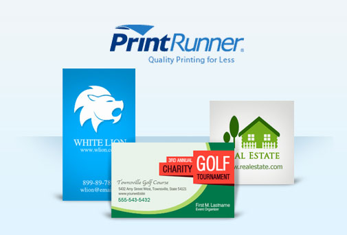 Print runner business cards psdfan 2 x 35 and magnetic cards 2 x 35 if youre looking for something a little different to improve your client business then these are ideal reheart Images