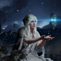 Members Area Tutorial: Create a Beautiful Snow Queen Photo Manipulation