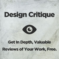 Design Critiques #1 (Get Your Work Critiqued For Free)