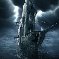 Photo Manipulate a Mysterious Ghost Ship in Photoshop