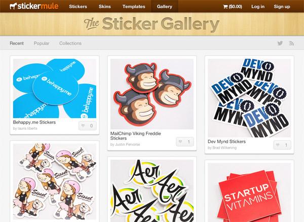 Our favorite sticker designs