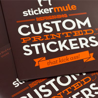 Win $100 Worth of Custom Die Cut Stickers From Sticker Mule (Winner)