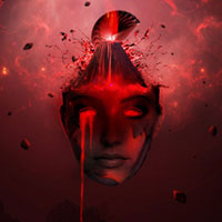 "Members Area Tutorial: Create a Dark And Surreal Photo Manipulation ""Volcano Spirit"""