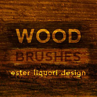 New Brush Set: Wood