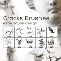 Free Download: Cracks Brush Set