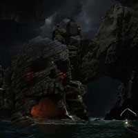 Photo Manipulate an Eerie Sea Cave Scene