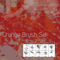 Design Freebie: Grunge Brush Set