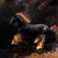 Create the Fiery, Dark Photo Manipulation 'The Last Ride'