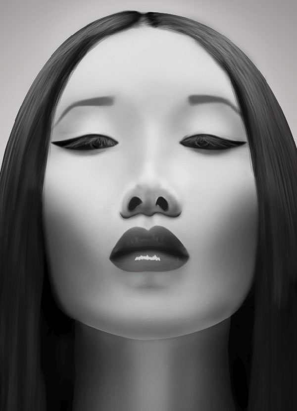 Digital Painting Lesson How To Create A Photo Realistic Portrait Psdfan