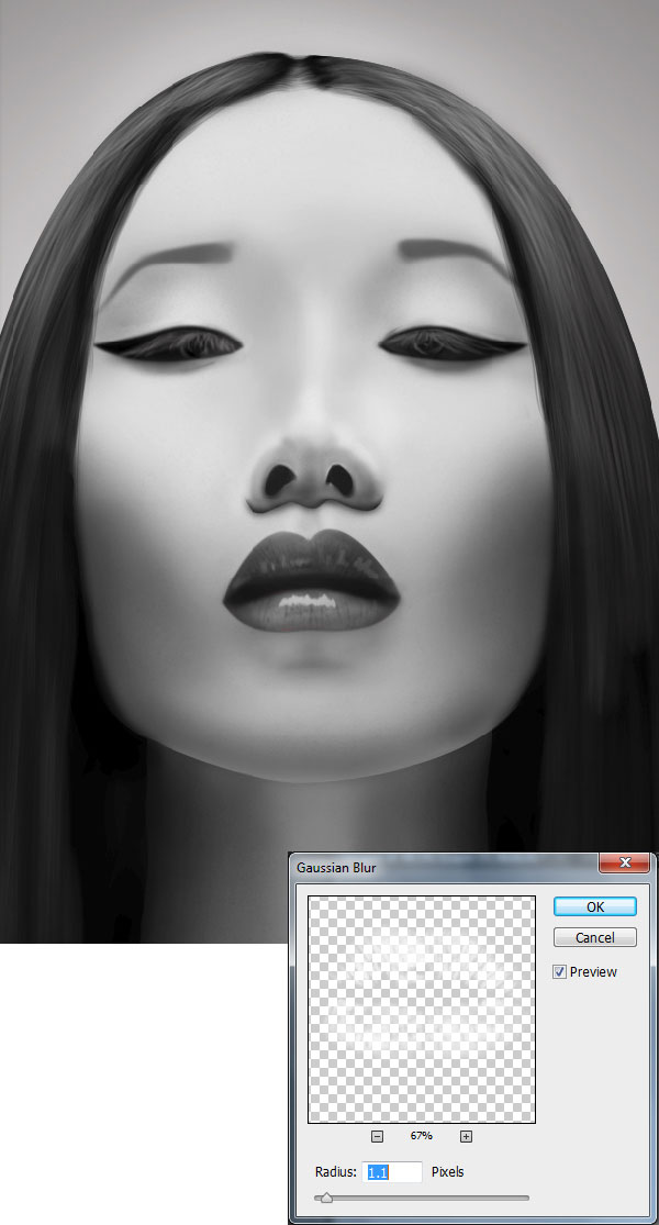 Digital Painting Lesson: How to Create a Photo Realistic Portrait