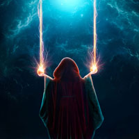 "Members Area Tutorial: Create A Fantasy Photo Manipulation ""Summoning The Power"""