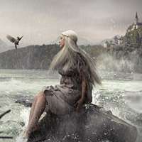 Photo Manipulate a Beautiful Fantasy Nature Scene