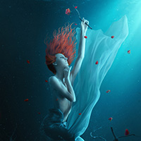Create a Fantasy Underwater Scene with Photoshop