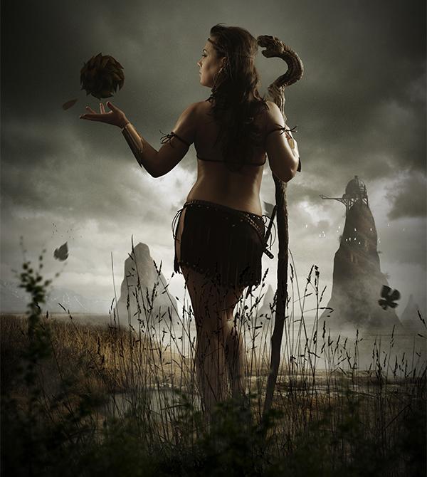 Photo Manipulate a Mystical Tribal Warrior