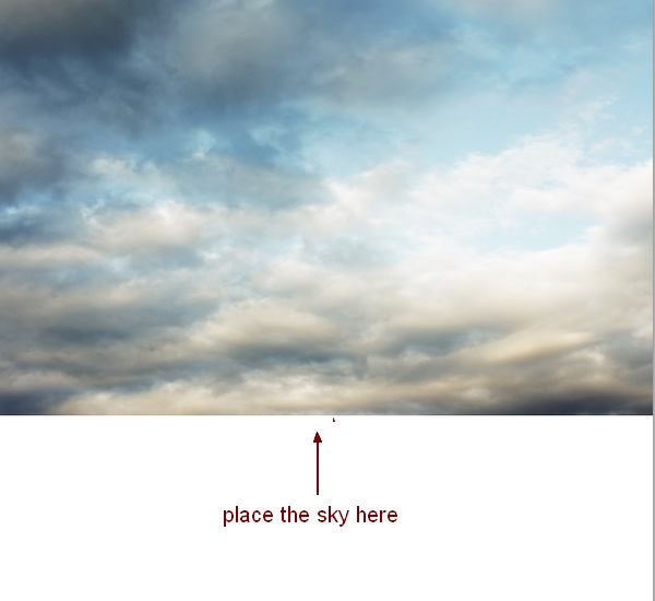 how to add or change the sky in photoshop